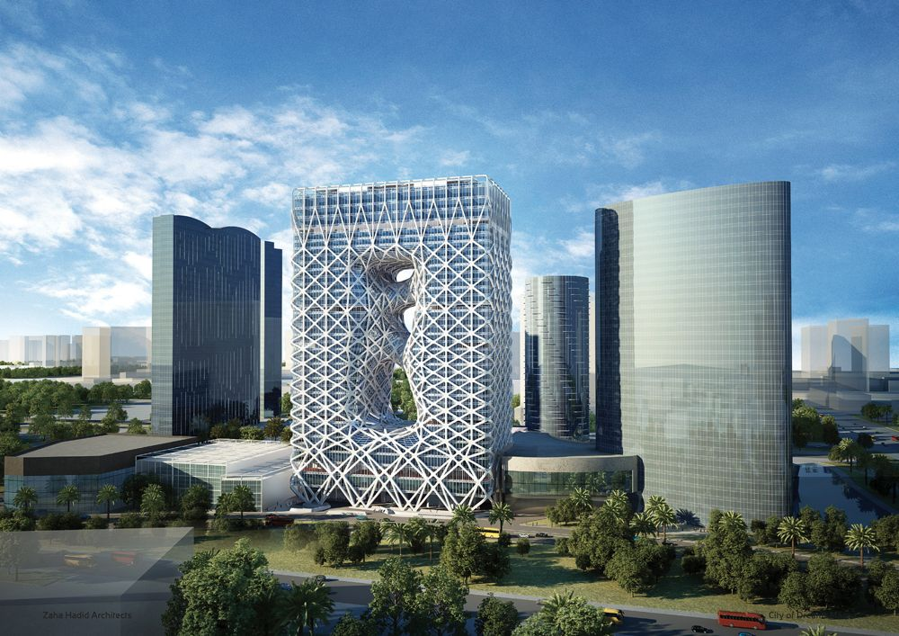 Zaha Hadid Morpheus Hotel City of Dreams Cotai Macao